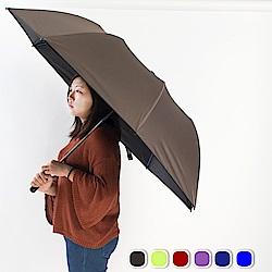 雙龍TDN 大王傘 超撥水降溫晴雨傘-穩重灰