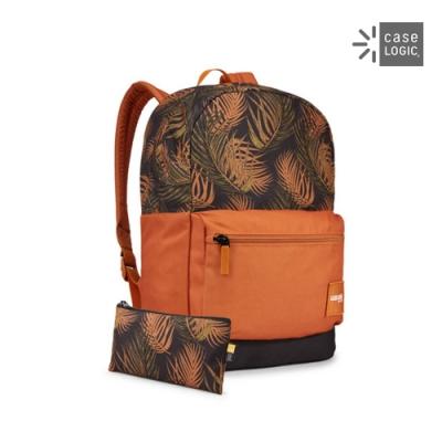 Case Logic-CAMPUS 24L筆電後背包CCAM-1116-棕櫚葉/銅色
