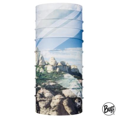 【西班牙BUFF】Coolnet抗UV頭巾-山岳系列-西班牙蒙塞拉特山