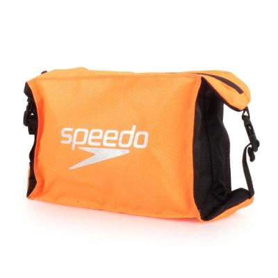 SPEEDO 5升輕量防潑水收納包 Pool Side  亮橘黑