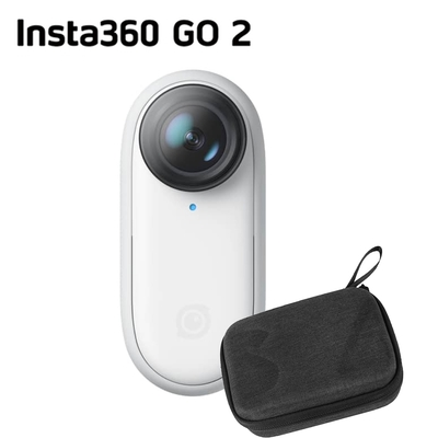 Insta360 GO2 拇指運動相機 +套裝收納包組 (公司貨)