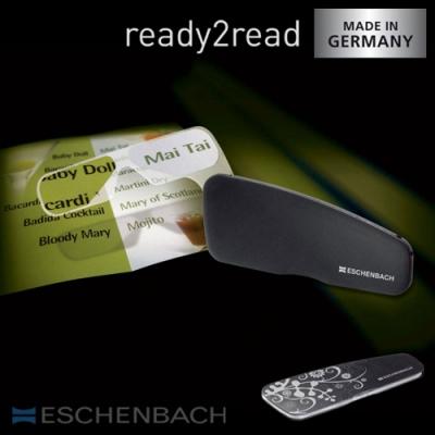 【德國 Eschenbach 宜視寶】ready2read 德國製手持式隨身型老花眼鏡 (共4色 2種度數)