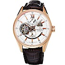 ORIENT東方STAR東方之星真皮機械錶手錶SDK05003W-白/41mm