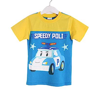 POLI純棉防蚊布短袖T恤 k50316 魔法Baby