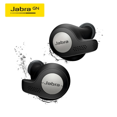 Jabra Active 65t 真無線運動藍牙耳機(鈦黑)(公司貨)