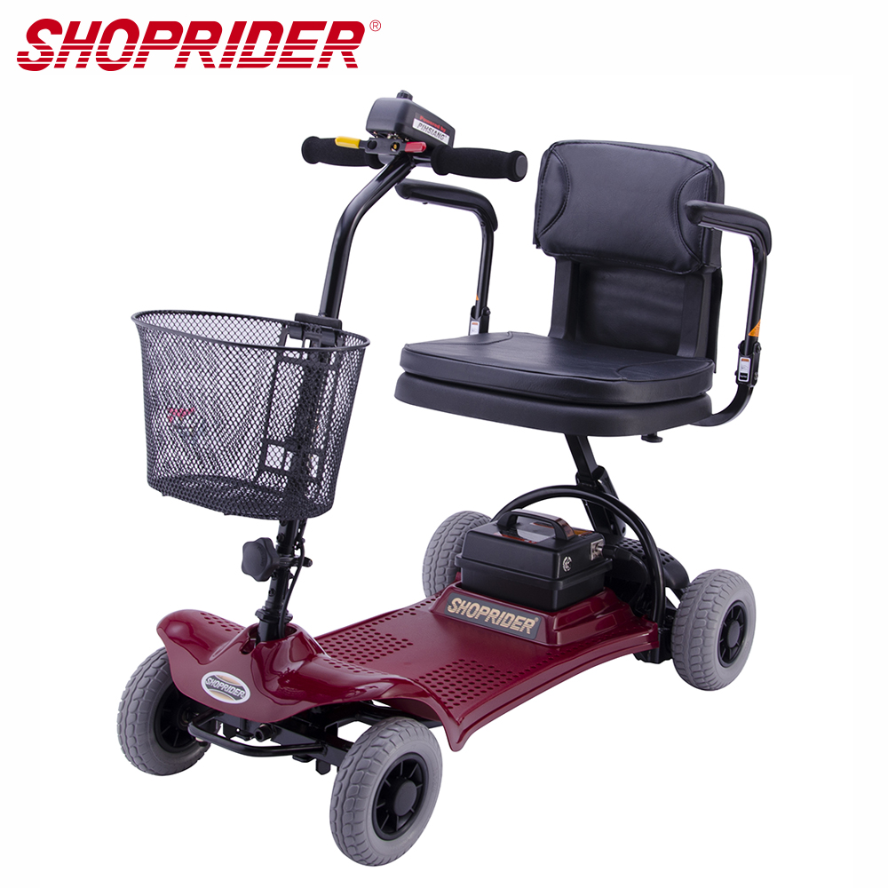 (無卡分期-12期)SHOPRIDER TE-SL7-4必翔電動代步車(折疊式車款)