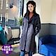 【時時樂】白鵝buyer 韓版牛角釦升溫厚鋪棉外套/大衣(多款任選)