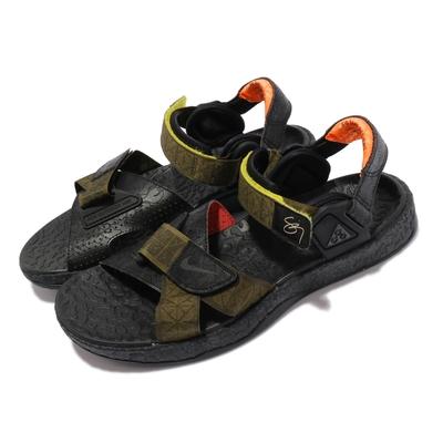 Nike 涼鞋 ACG Air Deschutz SZ 男鞋 經典潮流 戶外 夏日穿搭 黑 綠 DH1039300