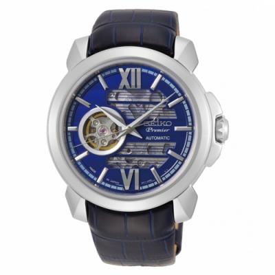 SEIKO Premier紳士雅痞設計款機械錶4R71-00C0B/SSA399J1