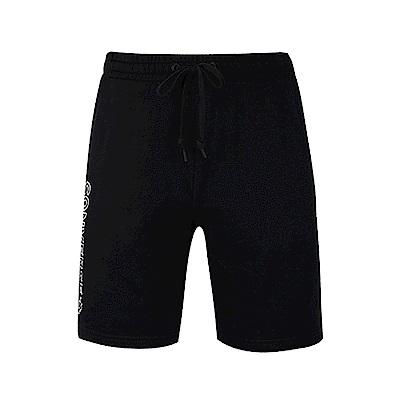 CONVERSE-男休閒短褲10007237-A01-黑