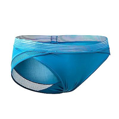 黛安芬-魔術隱形系列低腰內褲 M-EL(珊瑚藍)