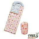 Tree Walker 高級柔軟舒適兒童捲筒睡袋 動物(粉)