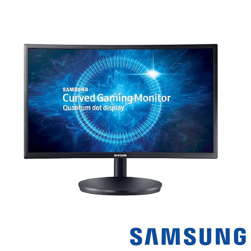 SAMSUNG C24FG70FQE 24型 VA曲面電腦螢幕