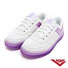 【PONY】SLAM DUNK半透明Q光澤果凍鞋 小白鞋 板鞋 女鞋 粉紫
