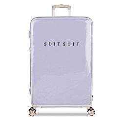 SUISUIT Fabulous PC塑膠 行李箱保護套28吋-薰衣草