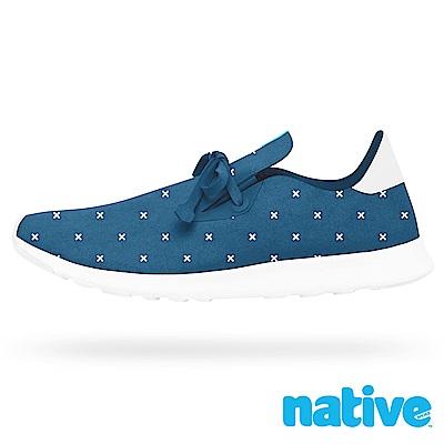 native APOLLO MOC 男/女鞋-海軍藍x字型印花