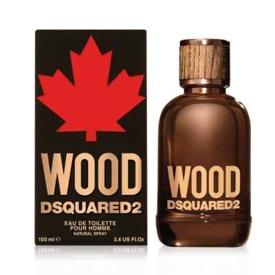 *DSQUARED2 WOOD・天性男性淡香水100ml
