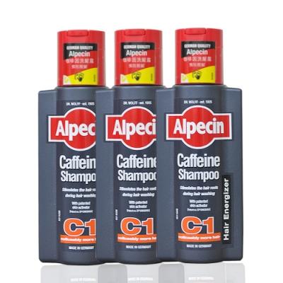 [時時樂限定] Alpecin 咖啡因洗髮露 C1  250mlx3入-快速到貨