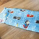戀家小舖 / 兒童標準睡袋  正義聯盟-正義曙光  高密度磨毛布  台灣製