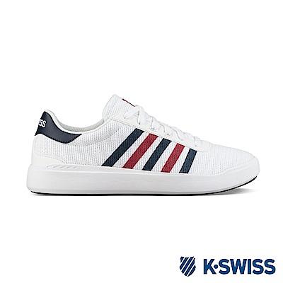K-Swiss Heritage Light T休閒運動鞋-男-白/藍/紅