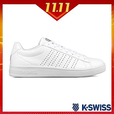 K-SWISS Court Casper S休閒運動鞋-女-白