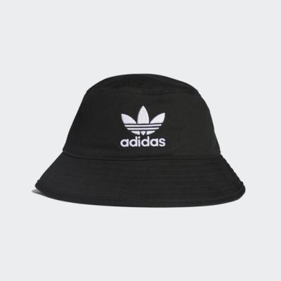 adidas 漁夫帽 遮陽帽 帽子  黑 BK7345 BUCKET HAT AC