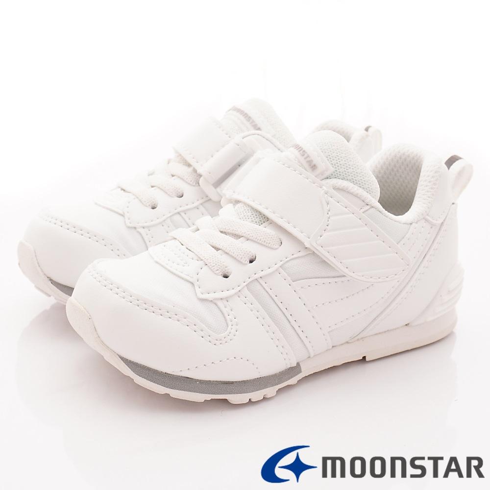 日本月星頂級童鞋 HI系列2E機能款 TW121PL1白(中小童段)
