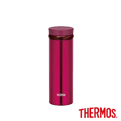 THERMOS 膳魔師 不鏽鋼真空保溫杯0.35L(JNO-350)-BGD(酒紅色)