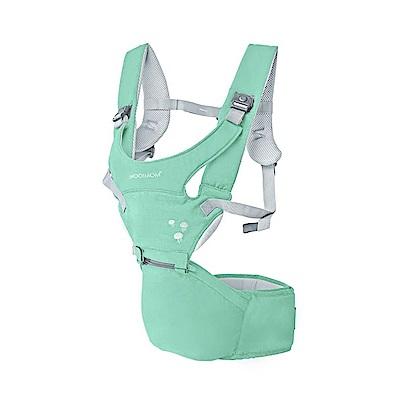 英國沐伊MOOIMOM 輕巧簡約款坐墊式腰凳揹帶-淺綠