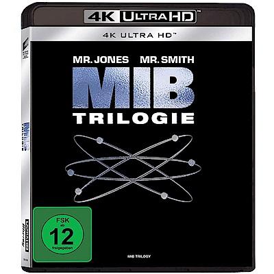 MIB 星際戰警  合集  4K UHD 三碟限定版