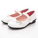 TOPUONE童鞋 水鑽蝴蝶結公主鞋款 SI19562白(中小童段)