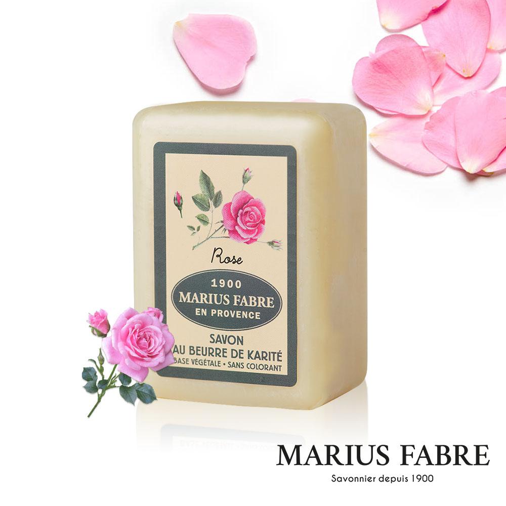 法國法鉑-天然草本法蘭西玫瑰棕櫚皂-250g/顆