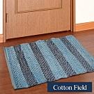 棉花田 馬克 混紡編織踏墊(40x60cm)