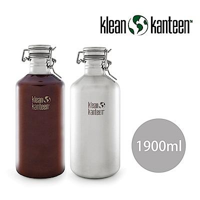 美國Klean Kanteen 快扣啤酒窄口不鏽鋼瓶(1900ml)
