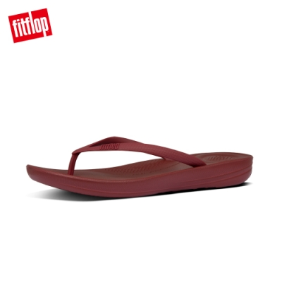 FitFlop IQUSHION ERGONOMIC FLIP-FLOPS 輕量人體工學戲水夾腳涼鞋-女(栗色)