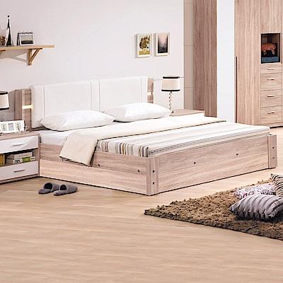 AS-凱西雙人加大6尺圍邊收納床底-187x193x35cm