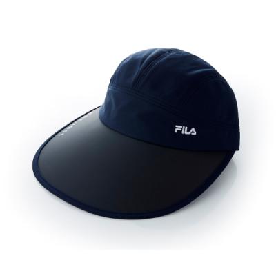 FILA 時尚遮陽帽-丈青 HTT-5004-NV