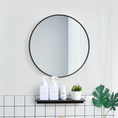 H&R安室家 50cm軒尼詩 智能LED發光觸控圓型燈鏡 ZA0203(掛鏡/浴鏡/化妝鏡/鏡子)