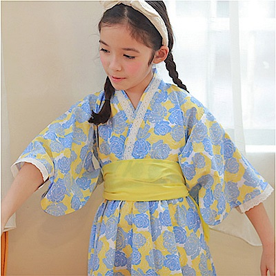baby童衣 印花圖案浴衣洋裝 60364