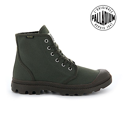 Palladium Pampa Hi ORIGINALE女鞋-墨綠