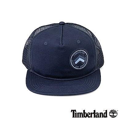 Timberland男款藍色透氣網布棒球帽A1EJU