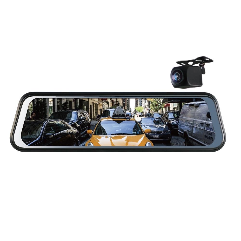 Polaroid 寶麗萊 DE961 雙鏡頭 電子後視鏡 行車紀錄器-快