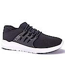 V-TEX 時尚針織耐水鞋/防水鞋 地表最強耐水透濕鞋-暗夜黑(女)