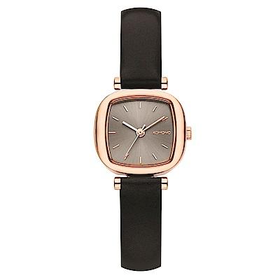 KOMONO Moneypenny 腕錶-鉛灰/24mm