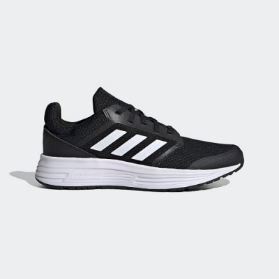 adidas 慢跑 訓練 緩震 運動鞋 女鞋 黑 FW6125 GALAXY 5