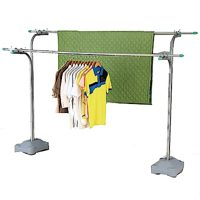 CC001 不銹鋼晾衣架(不含桿)带水箱 沙座 曬衣架 水箱式曬衣架 晾衣組