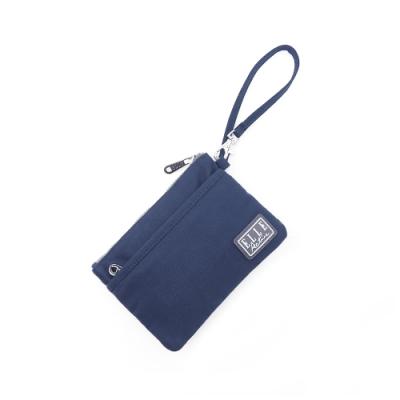 ELLE Active 透視網布系列-口罩收納袋/零錢包-深藍色