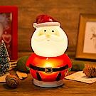 法國三寶貝 聖誕老公公LED擺飾夜燈 ( 聖誕節特別版 )