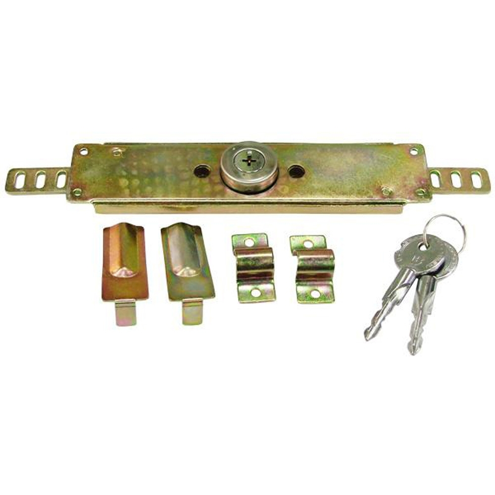 LO004 十字捲門鎖 鐵門用捲門鎖 鐵門鎖頭 門閂 銅鎖 門鎖 鐵門鎖 台灣製