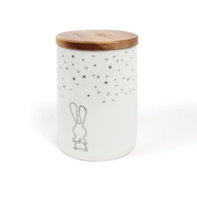 Bon voyage 瓷罐